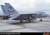 جنگنده افسانه ای F-14 Tomcat