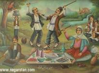 سیـزده بدر جشن اساطیری ایران باستان